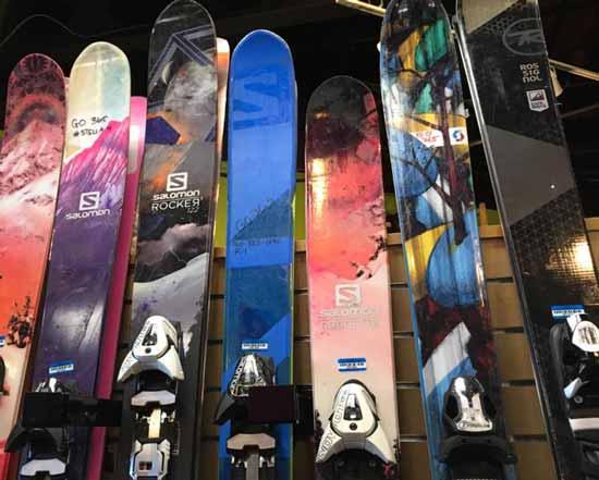 Mammoth Mountain Powder Skis